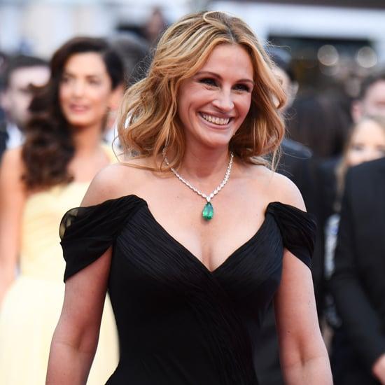 Julia Roberts No Shoes Cannes Red Carpet 2016