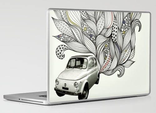 Laptop and iPhone Skins From Urban Outfitters and Society 6