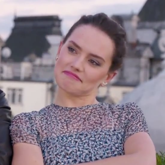 Daisy Ridley and John Boyega Star Wars Rap Video