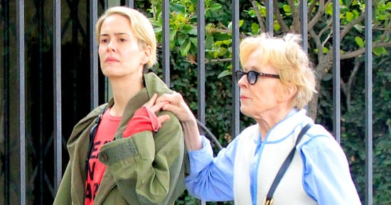 Sarah Paulson and Girlfriend Holland Taylor Go for Sweet Stroll — See the Latest Photo of the Unlikely Couple