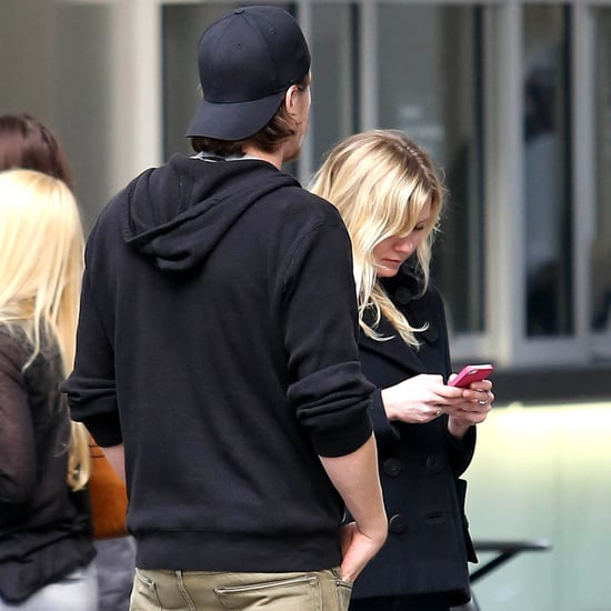 Kirsten Dunst and Garrett Hedlund Have Lunch at LACMA