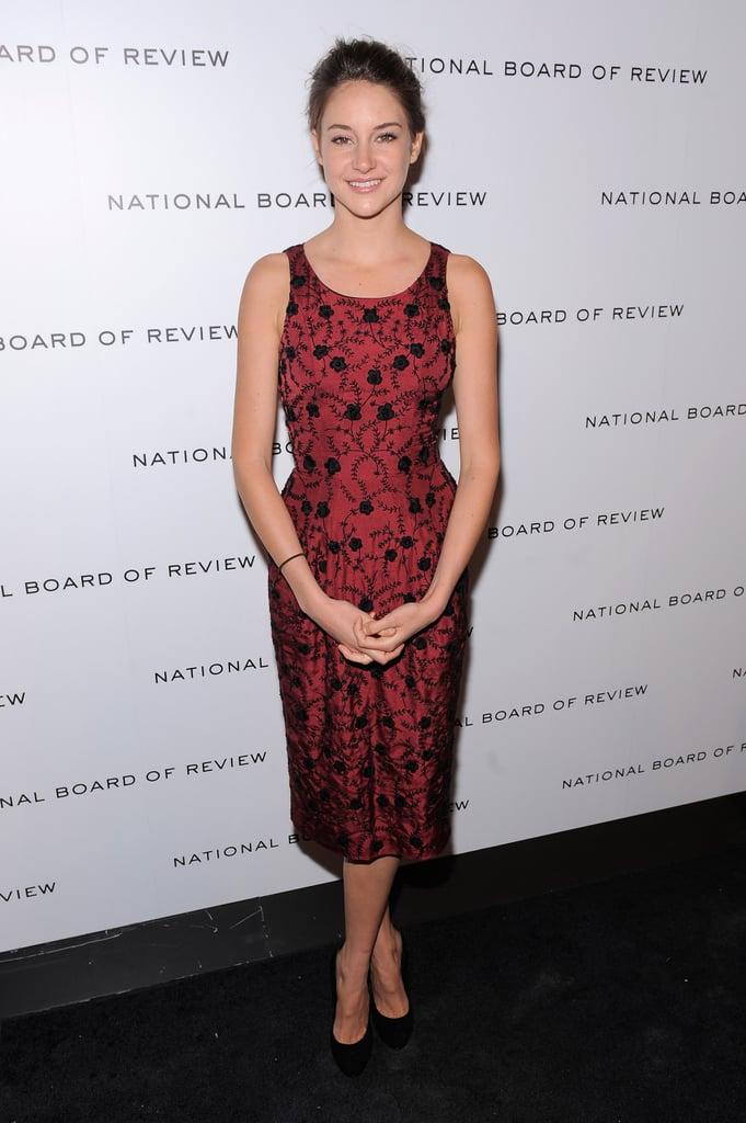 Shailene Woodley in L'Wren Scott at a 2011 NYC Event