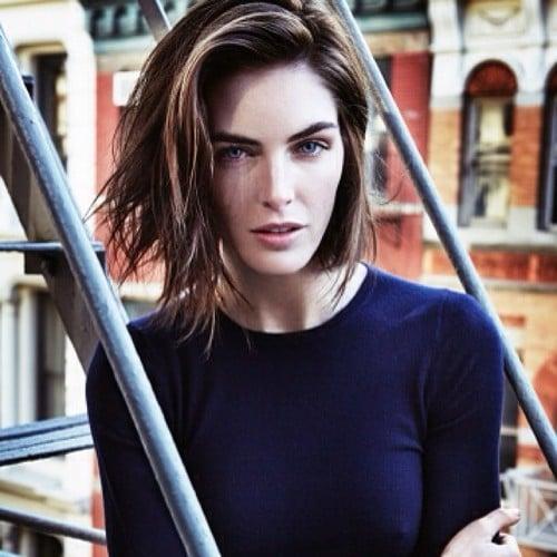 Kim Kardashian Shot for Vogue; Model Hilary Rhoda's New Cut