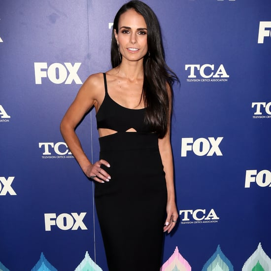 Jordana Brewster's Cutout Black Dress at Fox Summer TCA 2016
