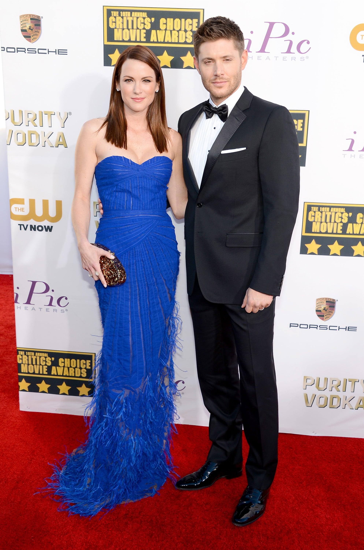 Jensen's Supernatural Smile Lights Up the Critics' Choice Awards