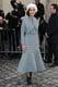 Miroslava Duma at the Christian Dior Paris Haute Couture show.