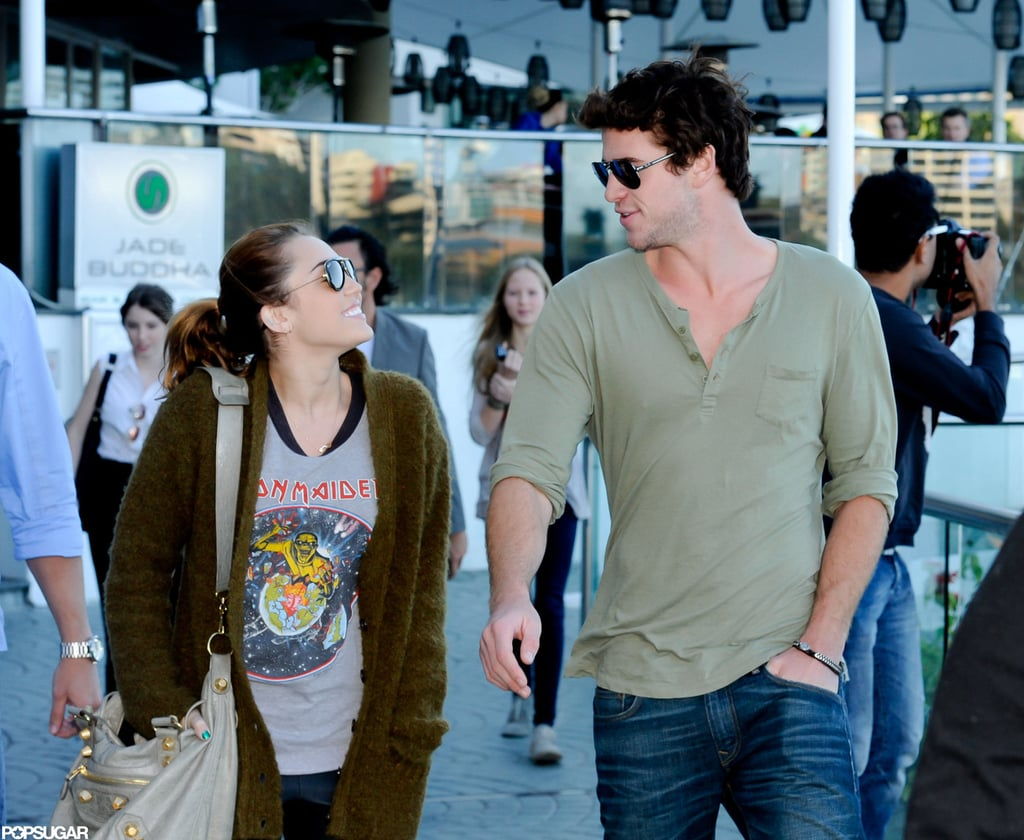 Miley Cyrus and Liam Hemsworth only had eyes for each other during a June 2011 trip to Australia.