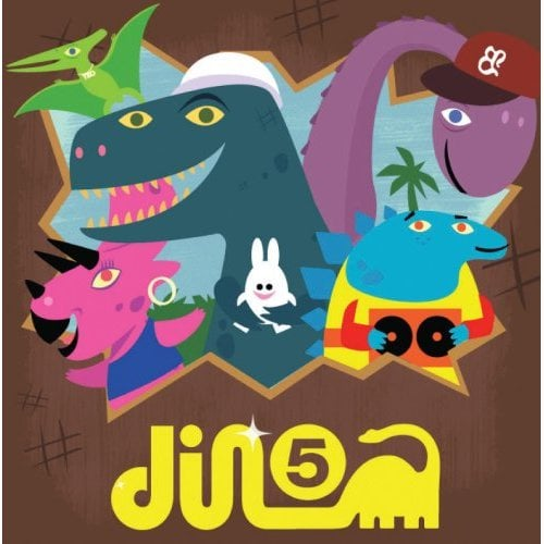 Baby Loves Hip Hop Presents the Dino-5 ($14)