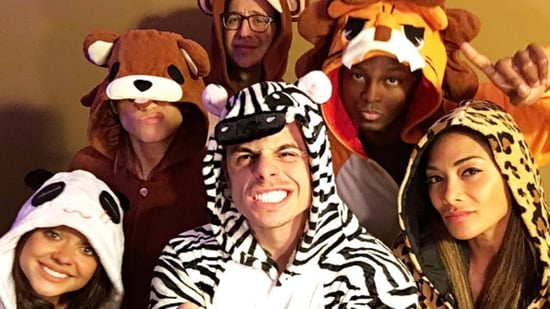 Jennifer Lopez, Beau Casper Smart and 'Dirty Dancing' Cast Bust a Move in Animal Onesies