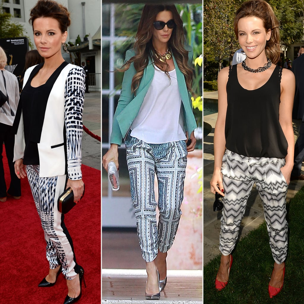 The Printed Trouser