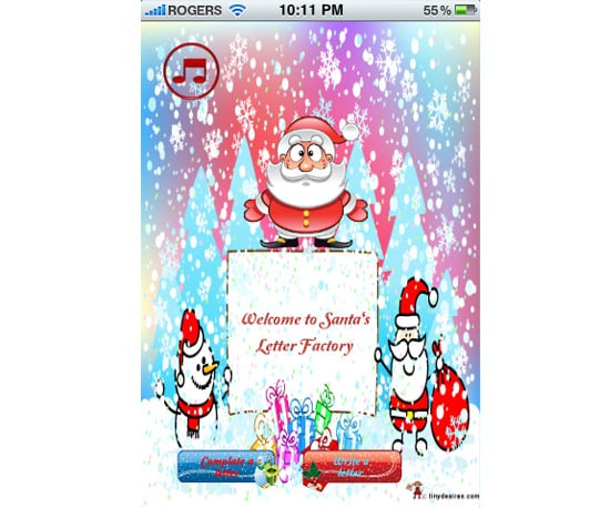 Xmas Wish iPhone App