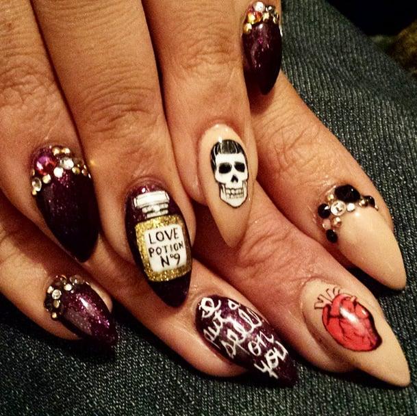DIY Halloween Nail Art Ideas | POPSUGAR Beauty