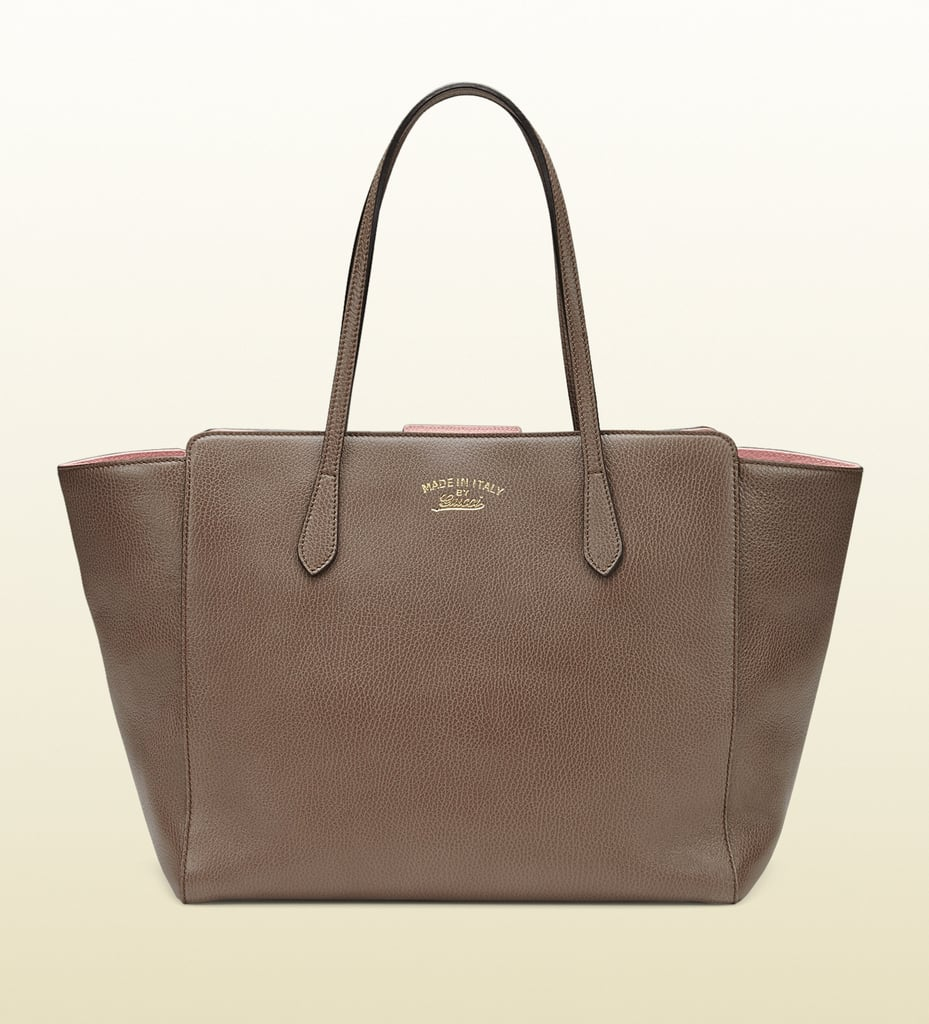 Gucci Swing Leather Tote
