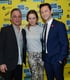 Tony Danza, Brie Larson, and Joseph Gordon-Levitt linked up on the red carpet for Don Jon's Addiction at SXSW.