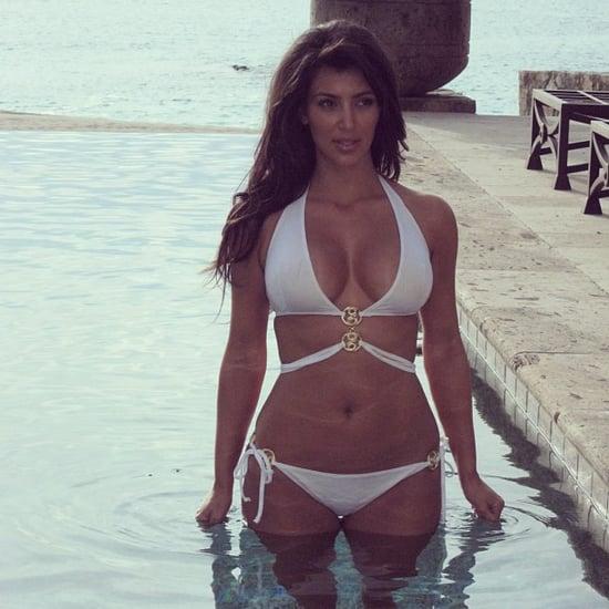 She-shared-photo-herself-white-bikini-during-trip