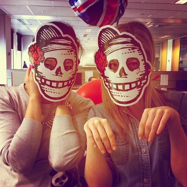 Our very best Day of the Dead faces. Are you scared yet?