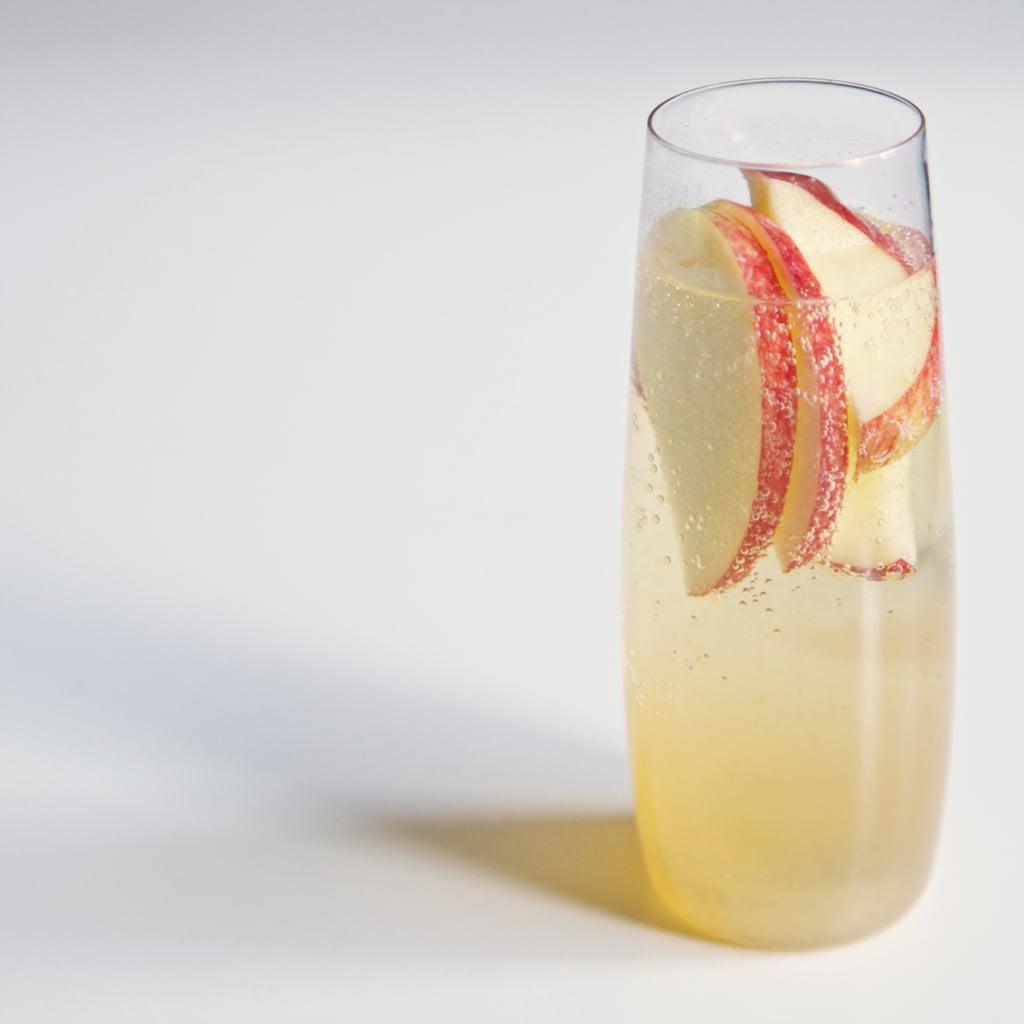 Apple-Citrus Champagne Cocktail