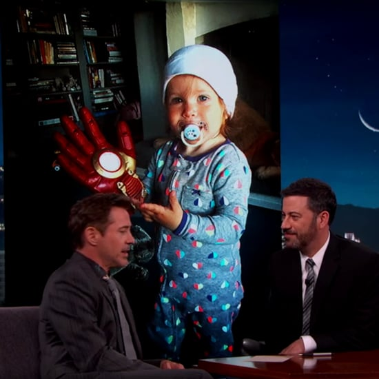 Robert Downey Jr. on Jimmy Kimmel Live April 2016