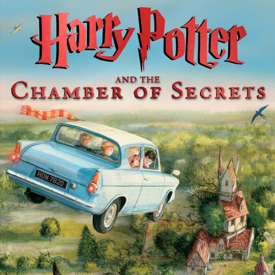 Harry Potter and the Chamber of Secrets Illustrated Cover