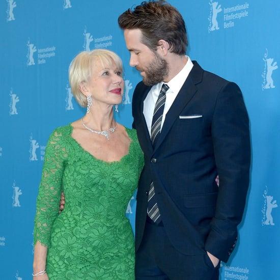 Helen Mirren Flirting With Celebrities