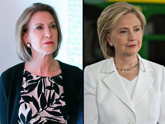 Hillary Clinton's Response to a Remark About 'Strangling' Carly Fiorina Has Critics Abuzz
