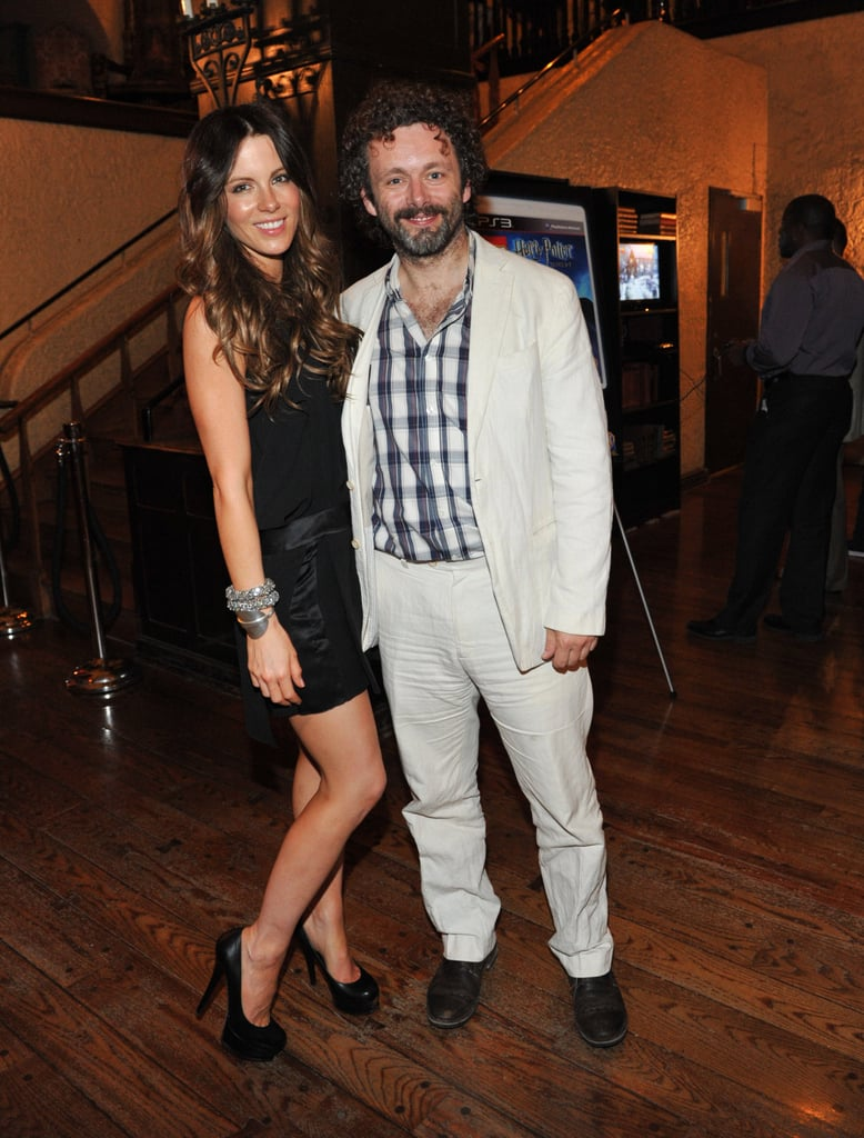 Michael Sheen and Kate Beckinsale together in Toronto.