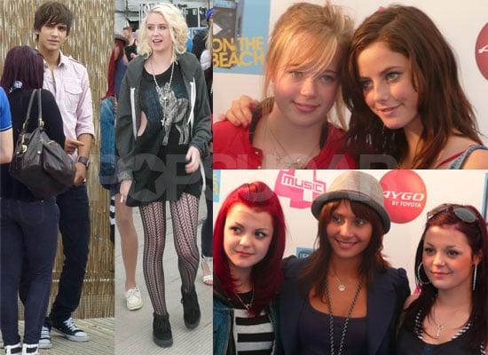 Exclusive Photos Of Skins Cast At T4 On The Beach Luke Pasqualino, Kaya Scodelario, Lily Loveless, Meg Prescott, Klariza Clayton