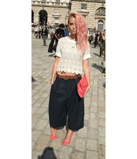 Rosie Fortescue's London Fashion Week Report Part 2