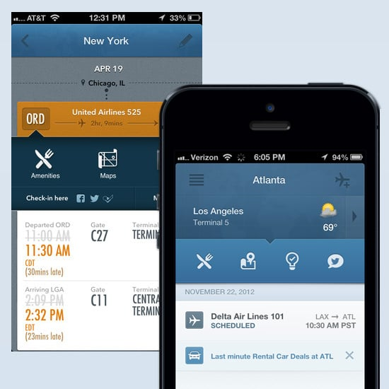 Airport Info App