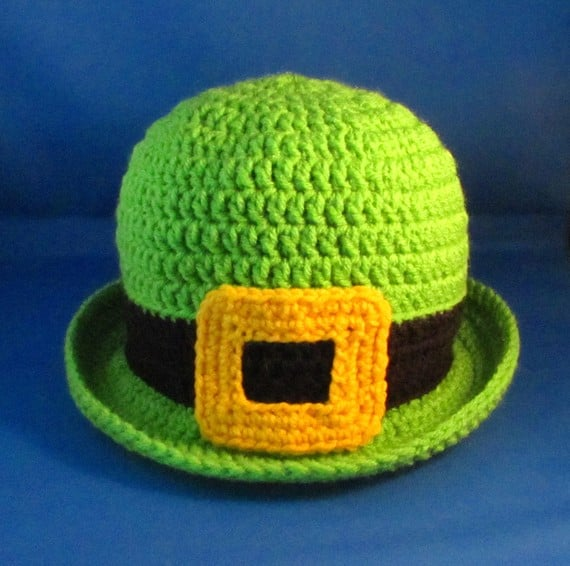 Crocheted Bowler Hat