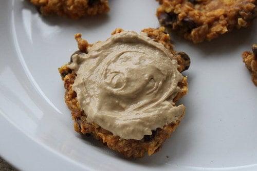Pumpkin Oat Carob Chip Cookies