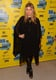 Fergie brought her all-black style — a sheer batwing dress and lace-up boots — to the Scenic Route premiere at SXSW.
