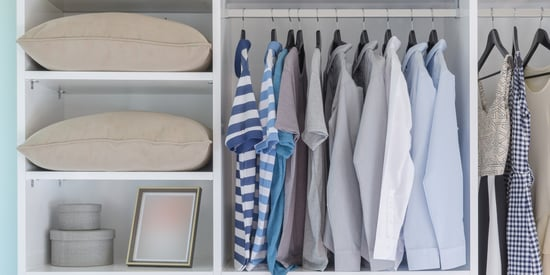 7 Cheap Storage Hacks For Your Apartment's Tiny Closet