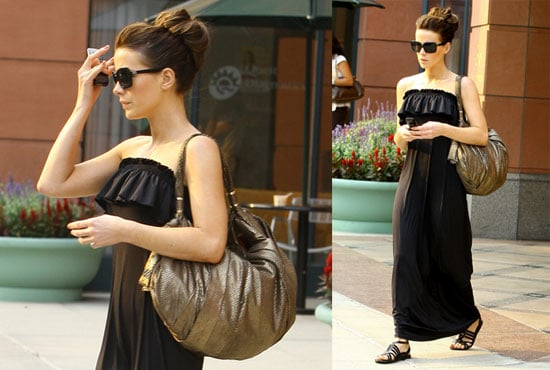 Photos of Kate Beckinsale in a Black Dress in LA