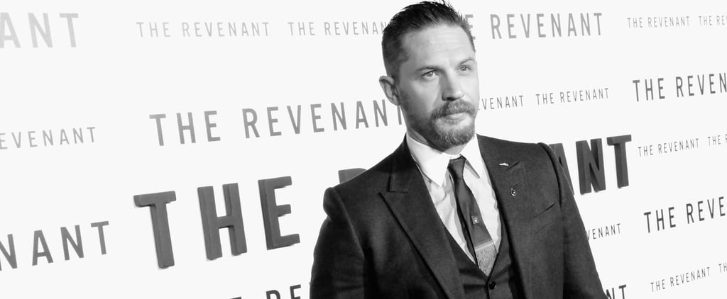 16 Pictures of Tom Hardy Smouldering in Black and White