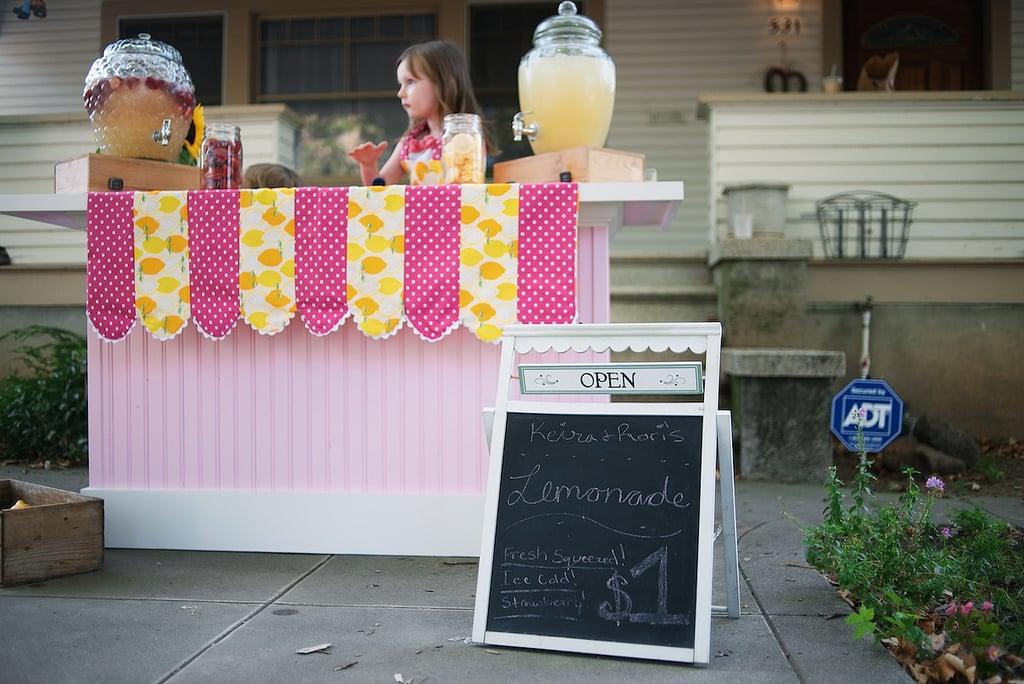 Open a Lemonade Stand
