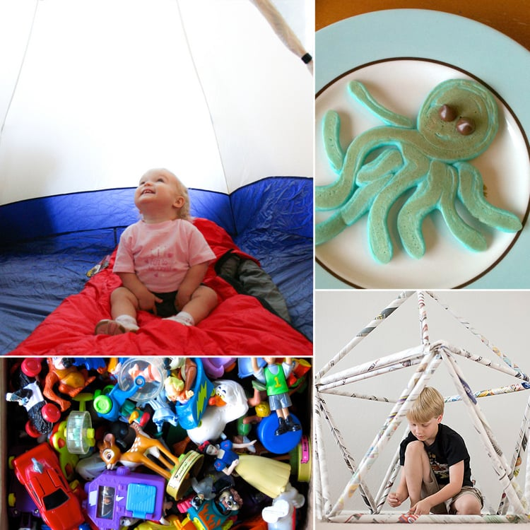 Snow Day? 111 Ways to Entertain the Kids Indoors