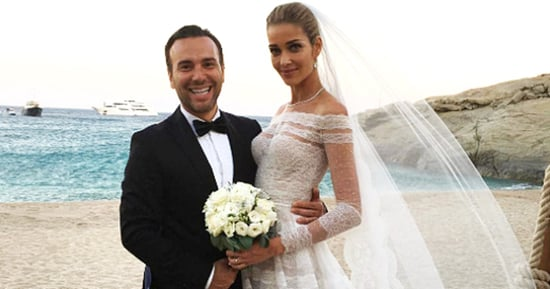 See Every Wedding Dress That Model Ana Beatriz Barros Wore to Marry Karim El Chiaty