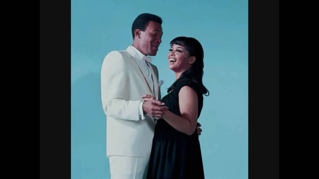 """""""You're All I Need to Get By"""" by Marvin Gaye and Tammi Terrell"""