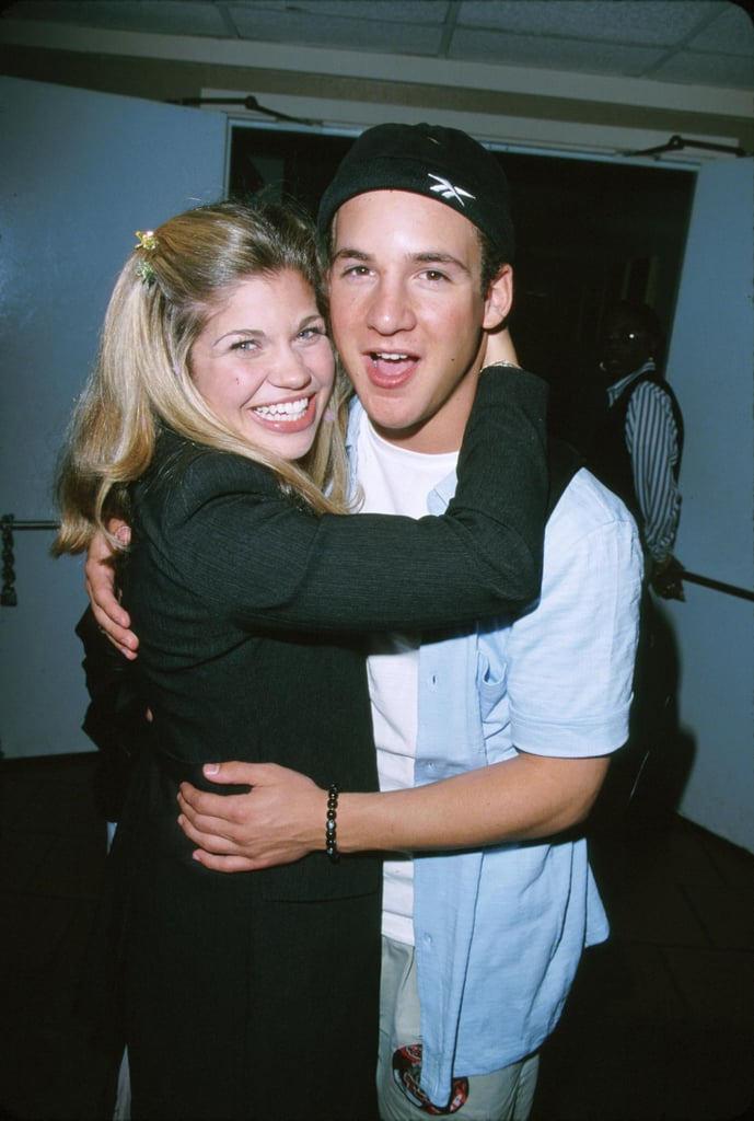 Boy Meets World stars Danielle Fishel and Ben Savage were there, too.