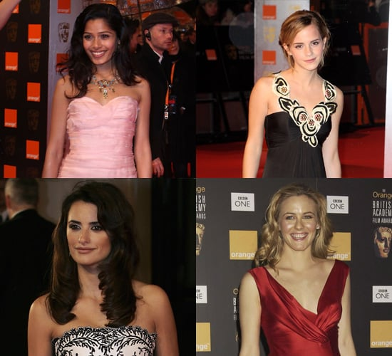 Red Carpet Photos from the BAFTAs