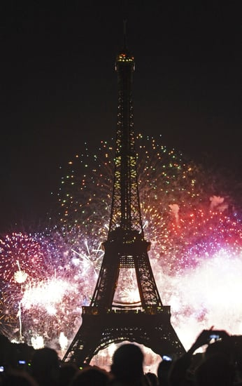 Bastille Day Fireworks in Paris Picture