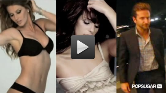 Video of Gisele Dresses Up and Strips Down, Glee Gives Lea Confidence, and Bradley Shares Renee Love