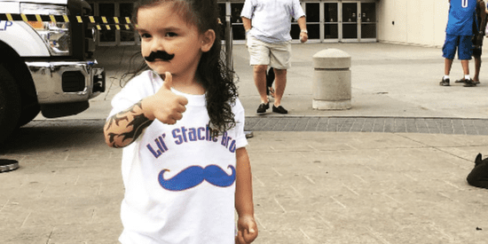 There Are No Words To Describe This Little Steven Adams Fan