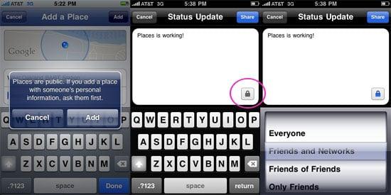 Facebook iPhone App Update