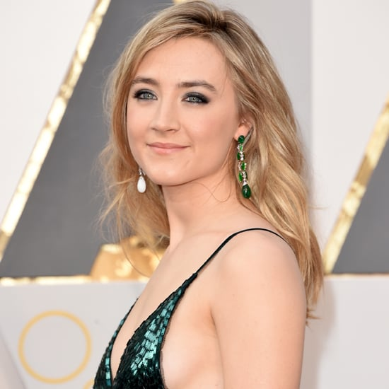 Saoirse Ronan Calvin Klein Dress at Oscars 2016