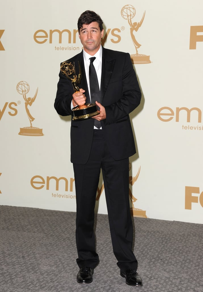 Kyle Chandler in the Emmys press room.