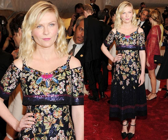 Kirsten Dunst in Chanel at 2011 Met Gala