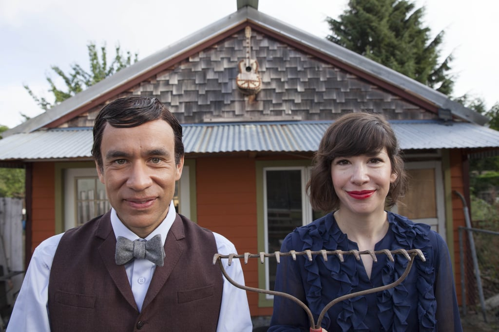 Fred Armisen and Carrie Brownstein