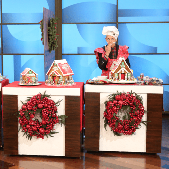 Steve Carell Decorates Gingerbread House on Ellen